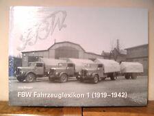FBW Fahrzeuglexikon 1 (1919-1942) von Jürg Biegger