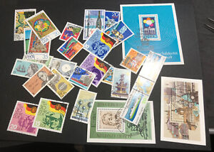 ODZ & ENDZ 25+ USED G-VG GERMANY SETS AND SOUVENIR SHEETS LOOK 1731