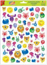 A4 Sticker Sheet Comical Balloon Heads- Scrapbooking & Cardmaking Over 50 Images