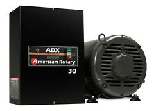 American Rotary Phase Converter  ADX30 30 HP 1 to 3 Phase Extreme Duty USA Made