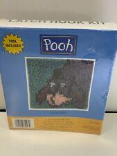 "New listing New & Sealed Disney * Winnie The Pooh * Eeyore * 7"" X 7"" Latch Hook Kit"