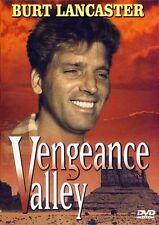 Vengeance Valley w/Burt Lancaster (Slimline DVD, 2000) BRAND NEW SEALED