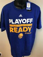 New Golden State Warriors 2017 Division Champs Mens Sizes S-XL Adidas Shirt $20