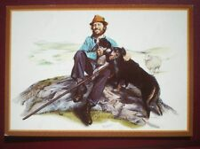 POSTCARD E1-10 THE SHEPHERD - BY M GREENSMITH COUNTRY CRAFTS