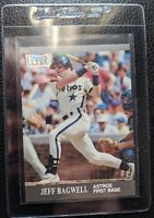 1991 FLEER ULTRA UPDATE #U-79 JEFF BAGWELL ROOKIE CARD RC HOUSTON ASTROS MINT