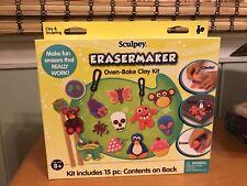 2011 Sculpey Erasermaker Oven Bake Clay Kit