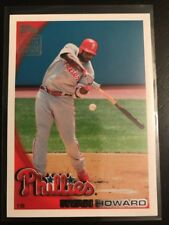 2010 Topps #RS1 RYAN HOWARD Factory Set Limited Edition AWESOME CARD !! Mint
