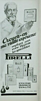 PUBLICITÉ DE PRESSE 1926 PIRELLI TUBE A DOUCHE BOUILLOTE POIRE GANTS TIRE-LAIT