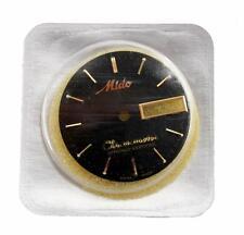 Mido Chronometer Black Watch Dial - Original Package
