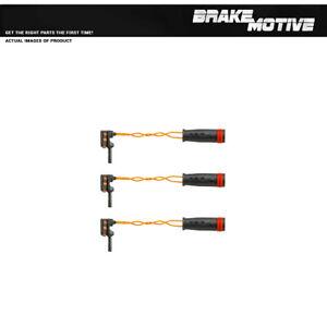 For Mercedes Benz C240 C280 C320 C350 CLK350 Front+Rear Brake Pad  Sensors