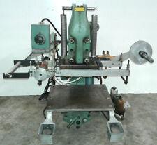 Kensol 36 F 3 K36t Foil Stamping Embossing Marking Machine Press 115 V 1000 W