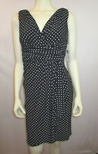 RALPH LAUREN  V NECK SHEATH DRESS  SZ 6 NEW WITH TAG