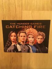 Barbie The Hunger Games Katniss Everdeen Promo Card Cryptozoic ~SDCC ~NYCC