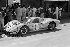 Ford GT40 1967 Le Mans winning GT 40 Mk IV AJ Foyt Dan Gurney photo photograph 2