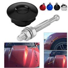 1Pcs Profession Push Button Billet Hood Pins Lock Clip Car Quick Latch Bonnet ST