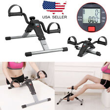 c02b656514d Folding Pedal Exercise Bike Fitness Exerciser Cycle Leg Arm LCD Display Gym  Home