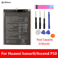 QrxPower Battery HB386280ECW 3200mAh For Huawei Honor 9/P10 STF-L09 STF-AL10