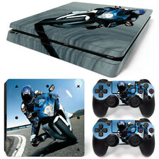 PS4 Slim Protective Skin Stickers Console & 2 Controllers - 1143 - Bike