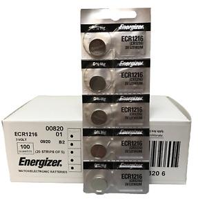 Energizer ECR1216 5pk Tear Strip X 20 (100 Coin Cell batteries)