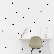 Circle Wall Stickers Polka Dot Children's Bedroom Decal Nursery Wall Art Sticker