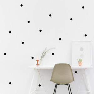 Circle Wall Stickers Polka Dot Children's Bedroom Decal Nursery Wall Art Sticker
