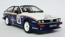 ALFA ROMEO ALFETTA Gtv6 N 14 Rally Tour De Corse 1986 SOLIDO S1802303 1 18