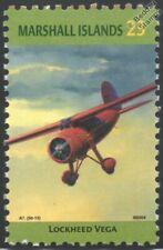 Amelia Earhart LOCKHEED VEGA Aircraft Stamp (Marshall Islands)