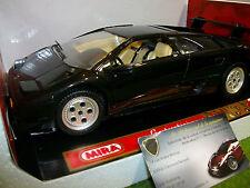 LAMBORGHINI DIABLO 1990 noir au 1/18 MIRA 9177 voiture miniature