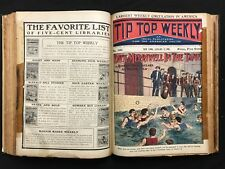 TIP TOP WEEKLY Issues 551-568 Nov. 1906-Mar. 1907 Dick Merriwell Burt Standish