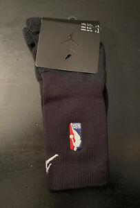 Air Jordan NBA Crew Basketball Socks Size Large 8-12 PSK655-010 Player Issued