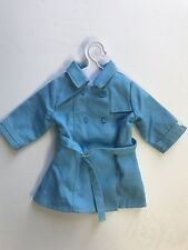 American Girl Doll Blue Trench Coat