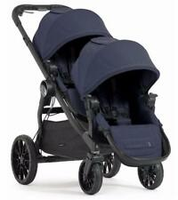 Baby Jogger 2017 City Select LUX Double Stroller in Indigo New Open Box!!