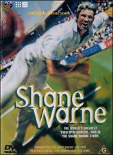 The SHANE WARNE Story - World's Greatest Spin Bowler Australian Cricket DVD NEW