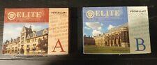 Elite Educational Institute Vocabulary Cards A & B