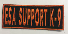 ESA SUPPORT K-9 Patch  5