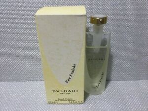 Bvlgari - Eau Fraiche - Pour Femme - Eau De Toilette - 100 ml/3.4 oz - New