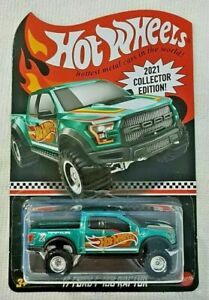 Hot Wheels 2021 COLLECTOR EDITION '17 FORD F-150 RAPTOR DG mail in ** PreOrder**