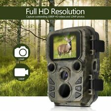 Mini Trail Caccia Fotocamera con Pir Sensore Impermeabile Outdoor Scout 12MP
