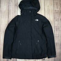Womens Vintage The North Face Hyvent Jacket Black Size Small