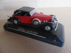 994G Vintage Solido 4021 Delage D8/120 Cabriolet 1939 1:43