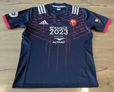 Maillot Rugby Rare #8 Picamoles match Equipe France 2023 - 6 Nations 2017 - XL