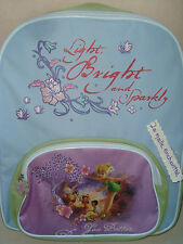 SAC A DOS CARTABLE FEE CLOCHETTE YOU BETTER BLEU VERT DISNEY NEUF
