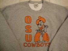NCAA Oklahoma State Cowboys University Gray football basketball Sweatshirt 3XL
