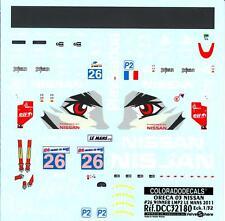 Colorado Decals 1/32 ORECA 03 NISSAN #26 WINNER LMP2 LE MANS 2011