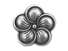 30 Neroli Flower 3/4 inch ( 19 mm ) Metal Shank Buttons