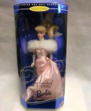 1995 Enchanted Evening Barbie # 14992 Hallmark Collector Edition Nfrb