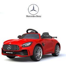 Auto Elettrica Per Bambini Mercedes Benz AMG GTR 12V Rosso SoftStart GT-R