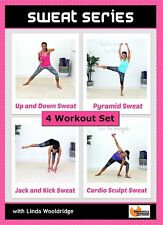 Cardio Toning DVD - Barlates Body Blitz SWEAT SERIES - 4 Workouts