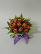 bouquet centrotavola lecca lecca chupa chups feste compleanno sweet table viola