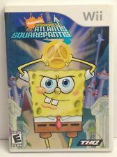 SpongeBob's Atlantis SquarePantis (Nintendo Wii, 2007) - Complete